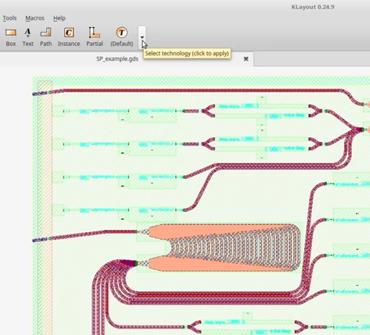 KLayout Technology - Nazca Design Tool